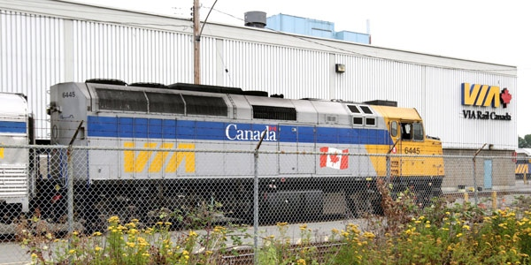 RCMP investigating complaint of couple engaged in sex acts on Via Rail