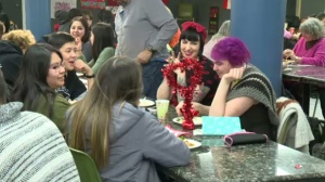 Across the country, people were using Valentine's Day to remember the lives of Missing and Murdered Indigenous Women. An event called Love in Action took place at Dawson College Thursday night.