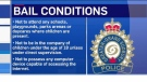 Bail conditions for Callam Rodya of Sudbury