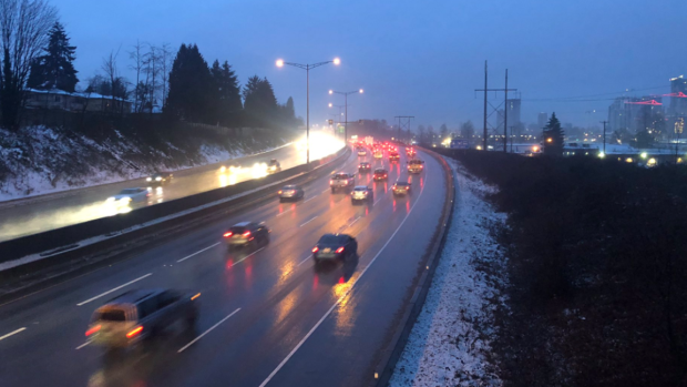 New snowfall warnings in effect for Metro Vancouver and the Fraser Valley