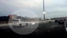 Car dodges ice on Ont. highway