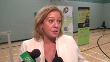 Minister Lisa MacLeod at Kindness Week kick-off.