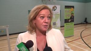 Minister Lisa MacLeod at Kindness Week kick-off.
