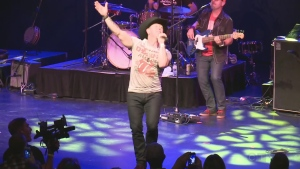 CTV Northern Ontario's Rebecca Nobrega talks to country star Aaron Pritchett about the inaugural KICX Sudbury Frost Fest two-day concert.