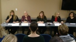 Inclusion Alberta holds news conference on seclusion room issue.