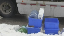 Weather posing issues to waste collectors