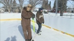 Outdoor rinks a labour of love