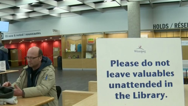 Heightened security at the Millennium Library