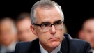 In this June 7, 2017, file photo, then-FBI acting director Andrew McCabe listens during a Senate Intelligence Committee hearing about the Foreign Intelligence Surveillance Act, on Capitol Hill in Washington. (AP Photo/Alex Brandon, File)