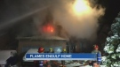 Fire in Kichener home