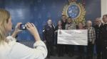 police chorus donation