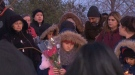 Candlelight vigil held for Riya Rajkumar