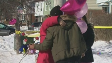 Memorial grows for 11-year-old girl killed