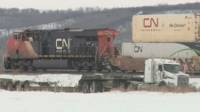CN says the leak has been contained.