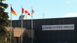 An Erwin Hymer Group location is seen in this undated photo. (CTV Kitchener)