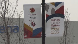 Brooklyn McDougall and Kaleb Muller won Alberta's first two medals, a gold and silver, respectively, on the first day of the Canada Winter Games 2019.