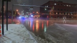 104 Avenue and 109 Street flood