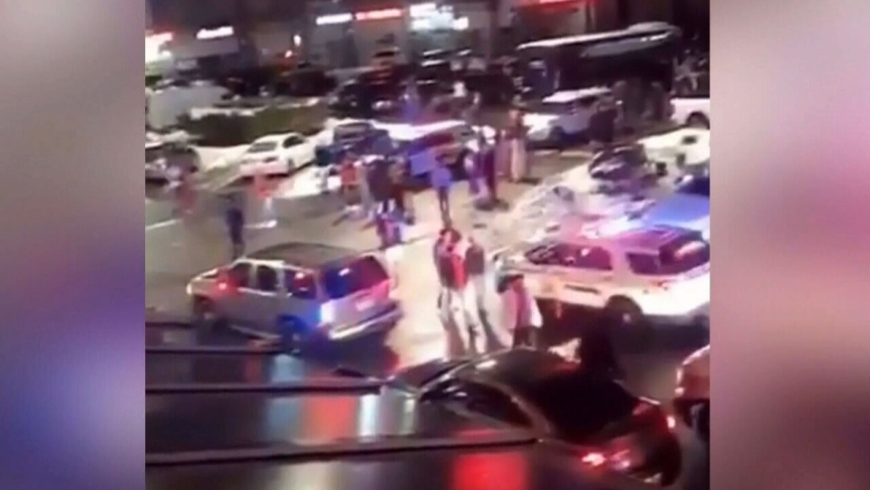 Police investigate Surrey stabbing