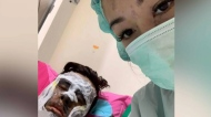 B.C. couple hospitalized after acid attack