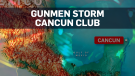 Gunmen kill 5, wound 5 at club in Cancun