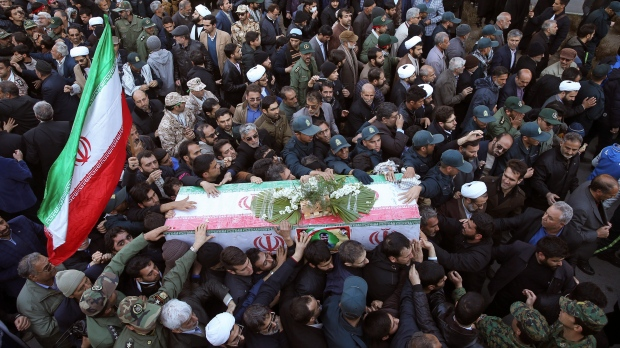 Revolutionary Guard funeral