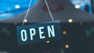 An open sign is seen in an undated photo. (Artem Bali/Pexels)