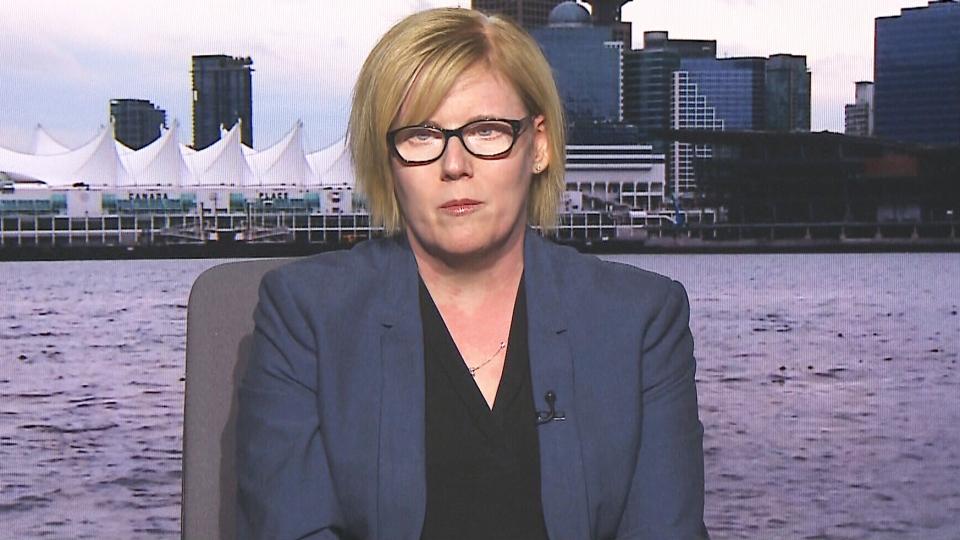 Public Services Minister Carla Qualtrough on CTV's Question Period.
