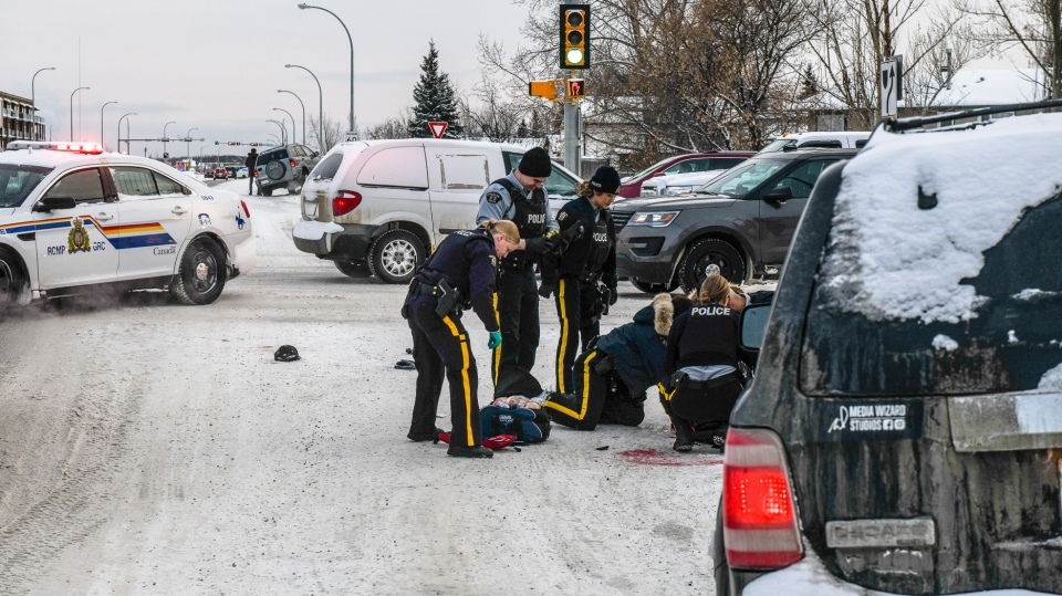 Grande Prairie RCMP are investigating after a man who was injured in an altercation Saturday died in hospital.
