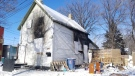 A fire broke out in the 100 block of Jarvis Ave. on Sunday, Feb. 17. (Source: Daniel Timmerman/CTV News).