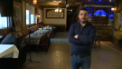 'Bab Sharqi' in Saint-Laurent serves up Syrian food - owner Samer Kassis (pictured) survived war to come to Canada and share a piece of his home. (CTV Montreal)