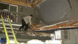 Roof caves Saint Jerome Feb 16