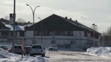 The current immigrant holding facility in Laval
