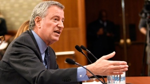 NYC mayor blasts Amazon for 'Corporate greed'