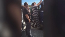 Two inmates help rescue baby locked in vehicle