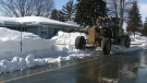 Snow clearing efforts continue