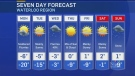 Snow showers expected for Family Day