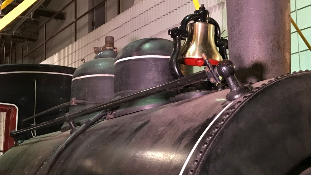 The bell is back: Replacement train bell installed at Moose Jaw Western Development Museum