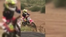 Girl injured in dirt bike crash at monster truck s