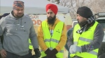 Sikh community giving back