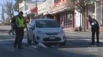 Crash sends pedestrian to hospital