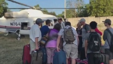 CTV National News: Canadians arrive from Haiti