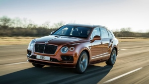 Bentley Bentayga Speed. (Courtesy of Bentley)