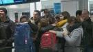 Trudeau airport arrivals