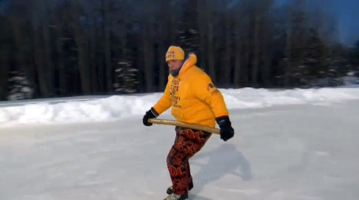 Steve McNeil is skating for 19 hours and 26 minutes in seven Canadian cities to raise money and awareness for Alzheimer's.