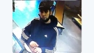 Police in Windsor and LaSalle are looking for a suspect related to a fake money investigation. (Courtesy Windsor police)