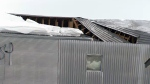 The roof of Groupe Villeneuve collapsed around 5:30 a.m. Monday February 18, 2019