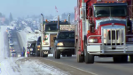 United We Roll! Convoy For Canada! is expected to roll into Ottawa for a rally at Parliament Hill on Tuesday morning.