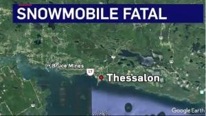 Fatal snowmobile crash on Thessalon River | CTV News Northern Ontario