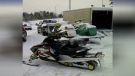 Police are asking the public to help locate this snowmobile that was allegedly taken from a trail in Huntsville. (Huntsville OPP)