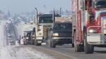 pro-pipeine convoy to Ontario